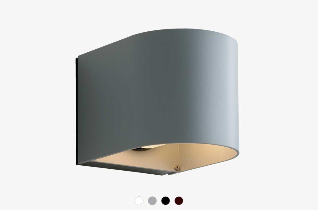 Embacco Lighting webshop outdoor lamp Light U Grey