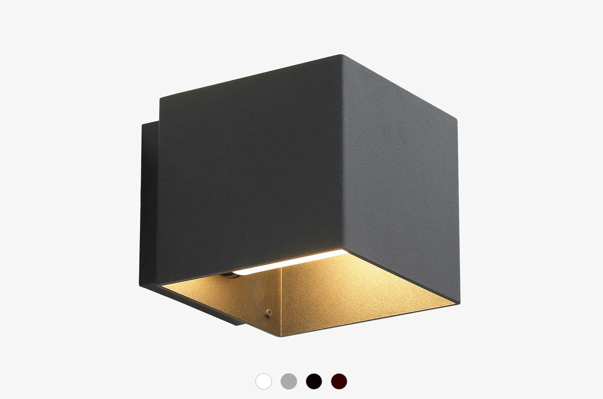 Embacco Lighting webshop Welcome outdoor lamp black