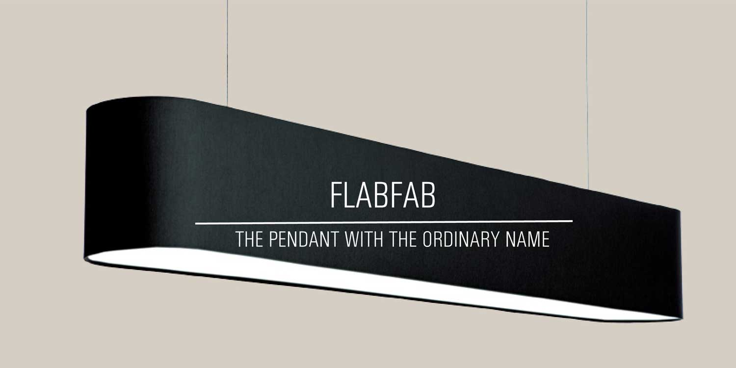 Embacco lighting Flabfab lamp black