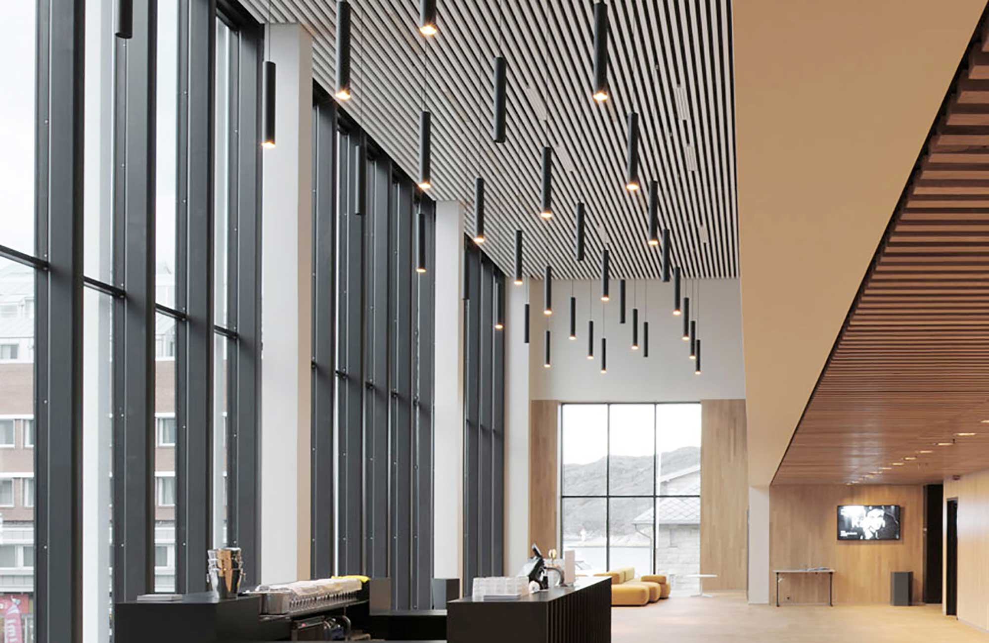 Embacco Lighting SoLong Pendant at Bodø in Norway