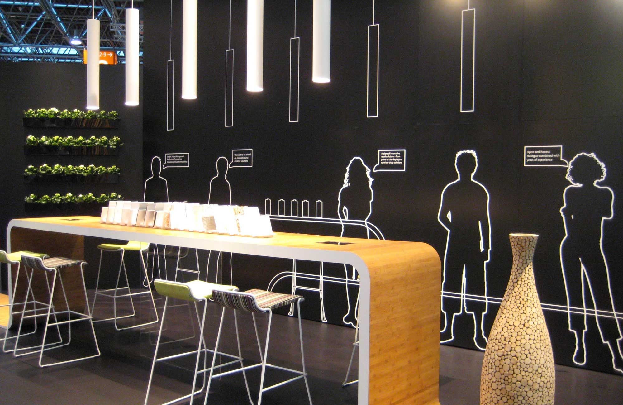 Embacco Lighting SoLong Pendant at exhibition in dusseldorf