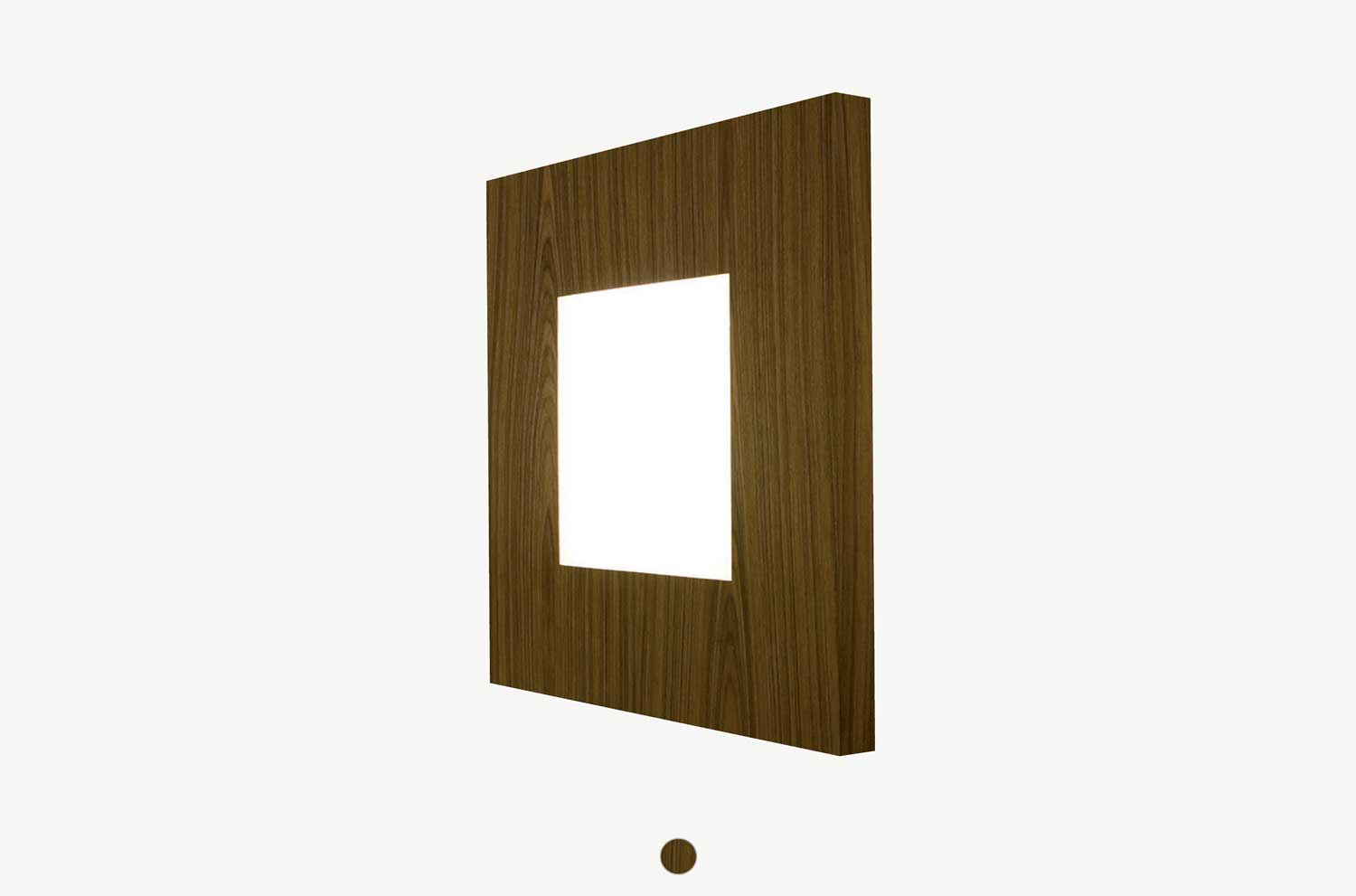 Embacco Lighting webshop teak Osize lamp