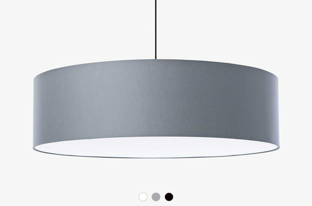 Embacco Lighting webshop Fab800 pendant grey